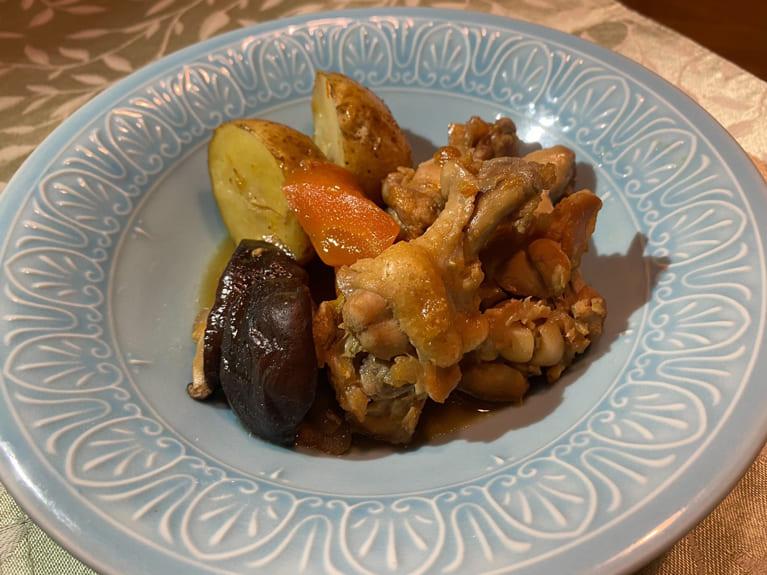 手羽元と野菜のマーマレード煮のレシピ
