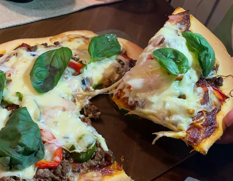 イタリアンピザのレシピ