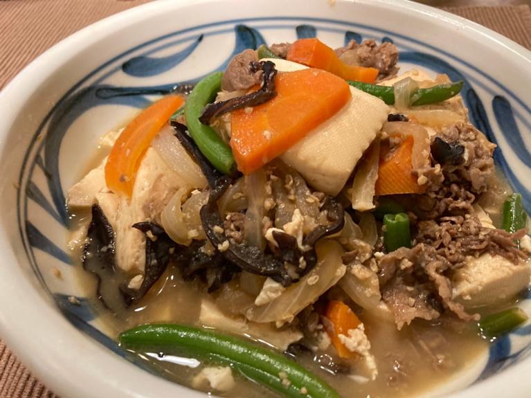 肉豆腐のレシピ