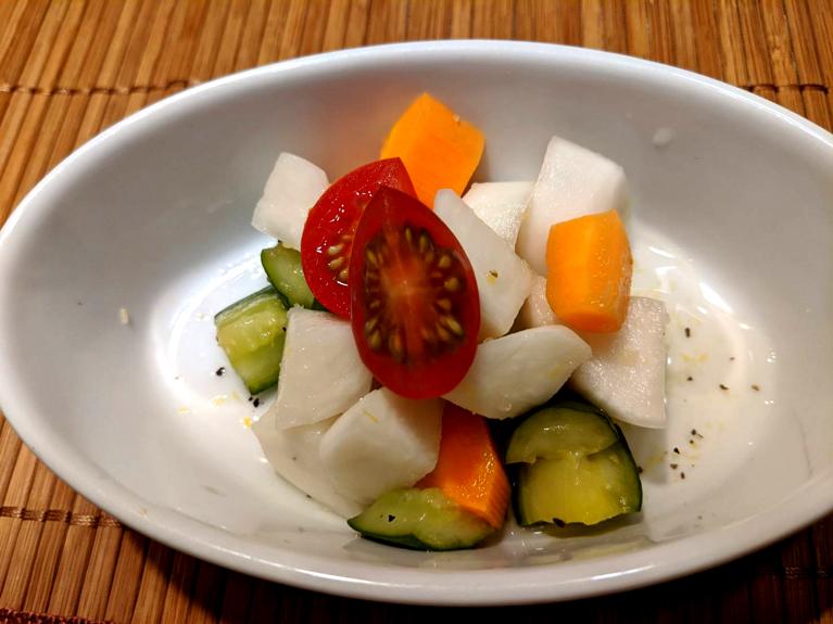 みりん風調味料で作るピクルスのレシピ